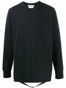 Helmut Lang футболка с ремешком J09DM525