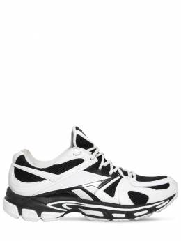 Poly Mesh Reebok Sneakers Vetements 71IWVA001-V0hJVEUvQkxBQ0s1