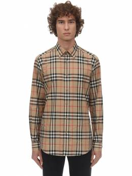 Рубашка Из Хлопка Поплин Burberry 71IJSJ098-QTcwMjg1