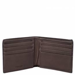 Bottega Veneta Brown Intrecciato Leather Bifold Wallet 246916