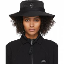 A-Cold-Wall* Black Logo Bucket Hat ACW-MF19-ZBB