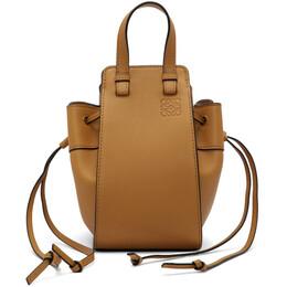 Loewe Tan Mini Hammock Bag 329.77.V07