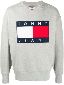 Tommy Jeans толстовка TJ Flag свободного кроя DM0DM07201