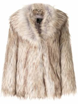 Unreal Fur фактурная шуба оверсайз URF8100055NAT