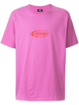 Stussy футболка с логотипом 1904344