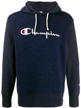 Champion жаккардовое худи с логотипом 214024