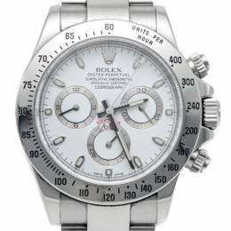 Rolex Cosmograph Daytona White Dial Stainless Steel Men'S Watch 40MM