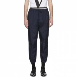 Barena Navy Scaleter Trousers PAU2579 - 5085