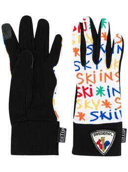 Rossignol перчатки с логотипом RLIWG37U