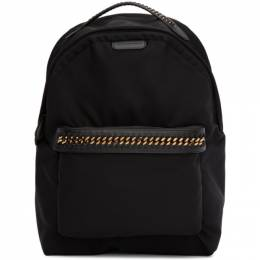 Stella McCartney Black Falabella Backpack 581249W8091