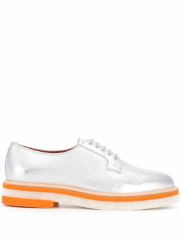 Santoni туфли на шнуровке WUSS57980QARROGMD50