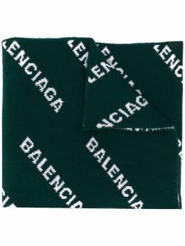 Balenciaga шарф с логотипом 558905T1473