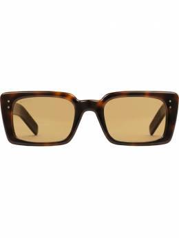 Gucci Eyewear солнцезащитные очки в прямоугольной оправе 573247J0740