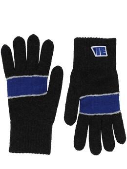 Wool & Acrylic Gloves Ader Error 70IS3R044-QkxDSw2