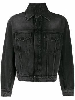 Ami Paris джинсовая куртка свободного кроя P20HD450651