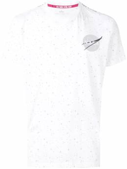 Alpha Industries футболка с принтом 'NASA' и изображением звезд 196506