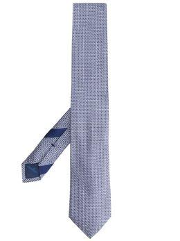 Salvatore Ferragamo галстук с монограммой 725566