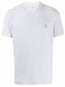 Brunello Cucinelli футболка из джерси M0T617427GCL517