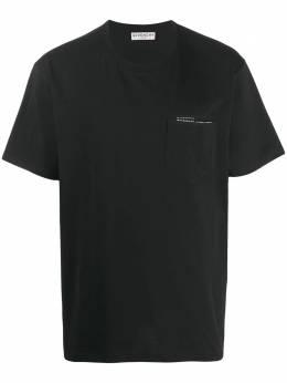 Givenchy футболка с логотипом BM70VA3002