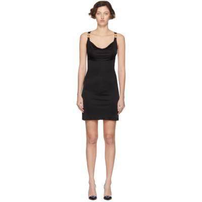 Versace Black Medusa Draped Dress A85419 A227759 - 1