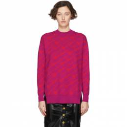 Versace Pink Wool Gianni Versace Sweater A85412 A233115