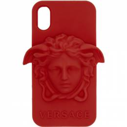 Versace Red Medusa iPhone X Case DPY7314M DPCME