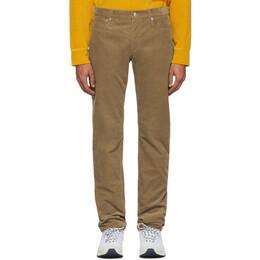 A.P.C. Beige Corduroy Petit Standard Jeans CODEA-M09002