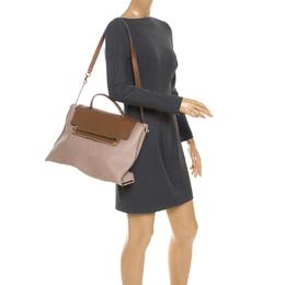 Chloe Tricolor Leather Large Clare Shoulder Bag 247512