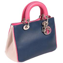 Dior Tricolor Leather Mini Diorissimo Bag 297299