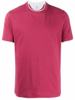 Brunello Cucinelli футболка кроя слим M0T617427CP647