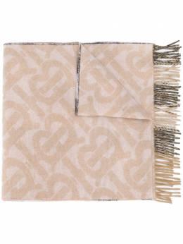 Burberry шарф с монограммой 8024483