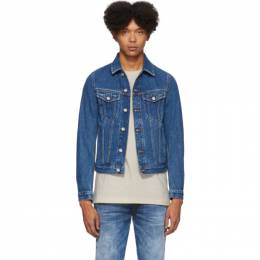 Diesel Blue Denim Galy-F Jacket 00SSRG 0078W