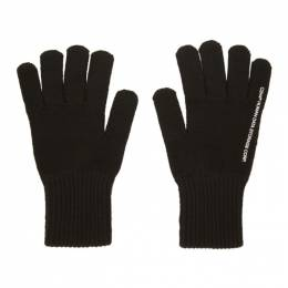 C2H4 Black Agitator Distressed Hybrid Gloves R001-D005