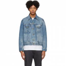 Diesel Blue Denim D-Bray Jacket 00SU1D 0BAVN