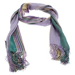 Missoni Multicolor Striped Knit Scarf 246733