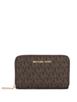MICHAEL Michael Kors кошелек с круговой молнией и логотипом 34H9GJ6D0B