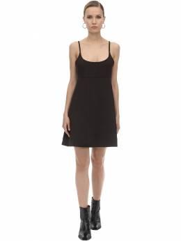 Платье Из Смешанной Вискозы Ganni 71IRT7035-ODk30