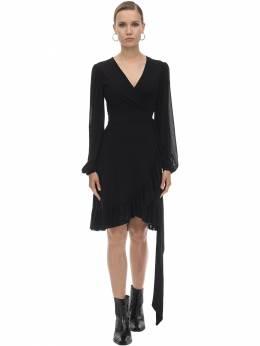 Платье Из Сетки Меш Ganni 71IRT7034-MDk50