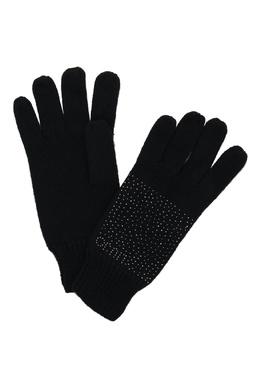 Черные перчатки со стразами Liu Jo 1776168166