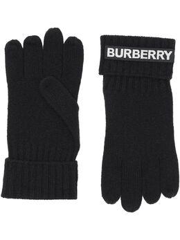 Burberry перчатки с логотипом 8025726