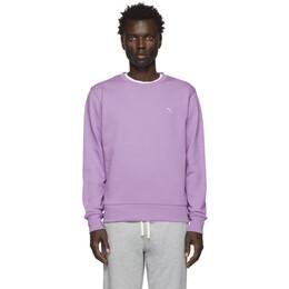 Saturdays Nyc Purple Bowery Slash Sweatshirt M12028BW02