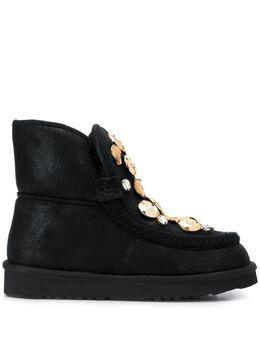Tosca Blu декорированные ботинки на плоской подошве F1906S102C99