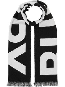 Burberry жаккардовый шарф с логотипом 8025557