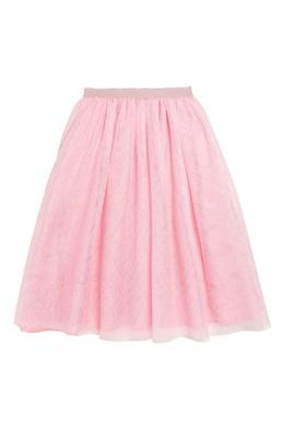 Розовая слоеная юбка Bonpoint 1210168316