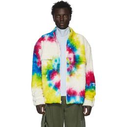 The Elder Statesman Multicolor Sherpa Rings Jacket 19181