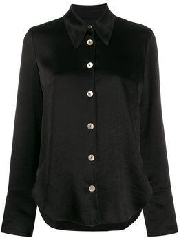 Nanushka блузка с широкими рукавами WSB00086