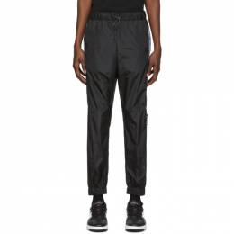 Marcelo Burlon County Of Milan Black County Tape Lounge Pants CMCA145R20FAB0011001