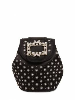 Rv Broche Twinkle Star Satin Backpack Roger Vivier 71IVUW022-Qjk5OQ2