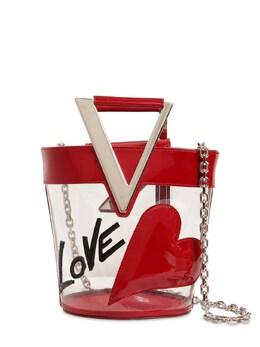 Rv Lovely Pvc & Leather Bucket Bag Roger Vivier 71IVUW005-MUc4OQ2