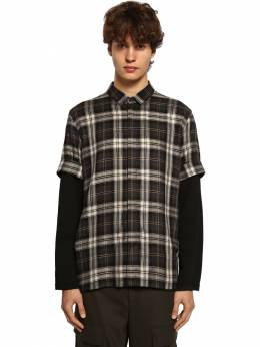 Рубашка С Рукавами Из Джерси Neil Barrett 71ILBI016-MTY40